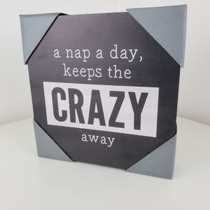 Wall art or table art A nap a day keeps the...